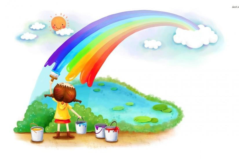 Kids Rainbow Wallpaper Background Photography Sky Kids Cute Cake ... Tumblr  Quote Wallpapers For
