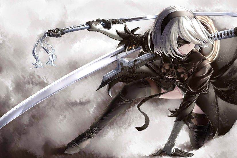 HD Wallpaper | Background ID:819001. 3500x2031 Video Game NieR: Automata