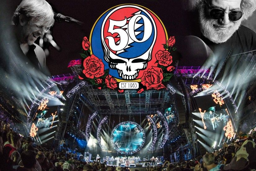 Chicago Grateful Dead Fare Thee Well Desktop Background (Version 2, with  Jerry and Trey) ...