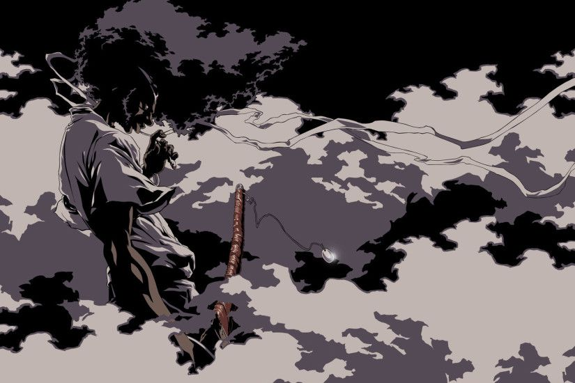 Foggy Afro Samurai HD Wallpapers