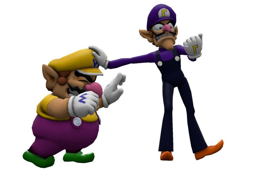 Wario and Waluigi by ItsameWario48 Wario and Waluigi by ItsameWario48