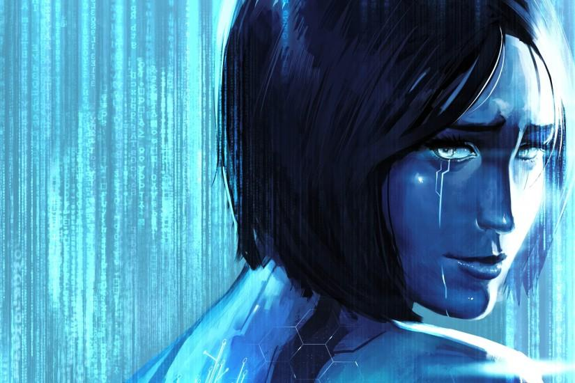 cortana wallpaper 2700x1519 for iphone
