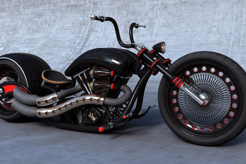 cool, chopper, wallpaper, black, motorcycle, goodwp, motorcycles .