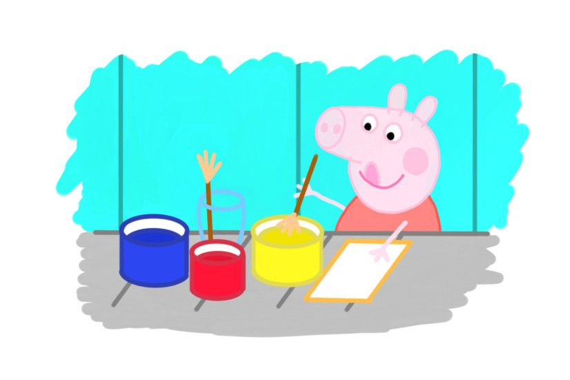 Dibujando a Peppa Pig / Drawing Peppa Pig on Samsung Galaxy Tab A with S-Pen