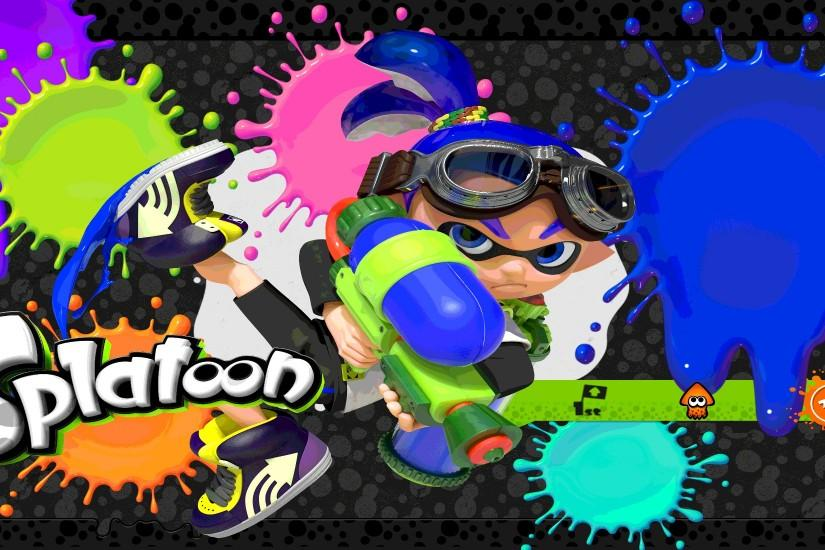 splatoon wallpaper 2000x1100 4k