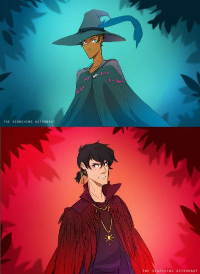 Keith / Lance (Witch AU )