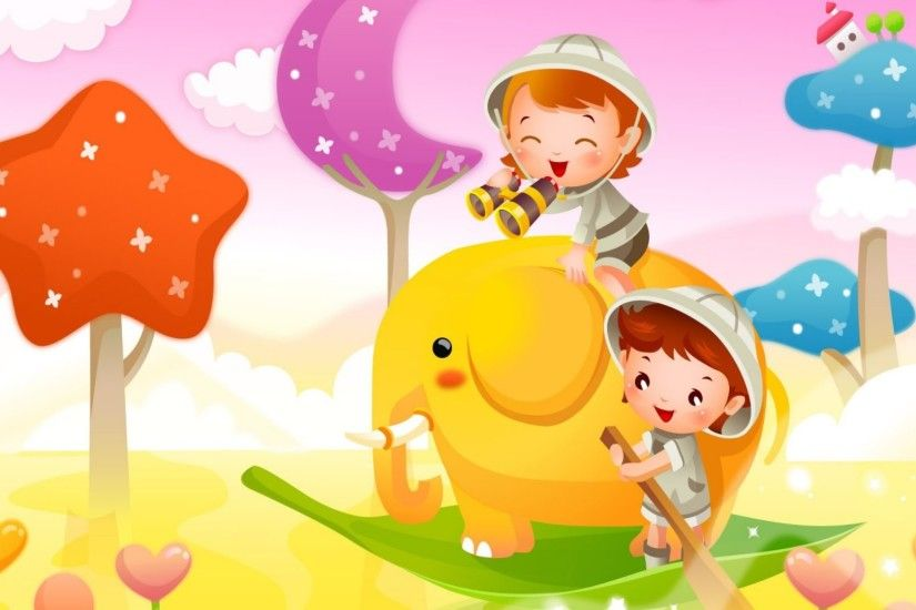 Cute Cartoon Wallpaper 25539