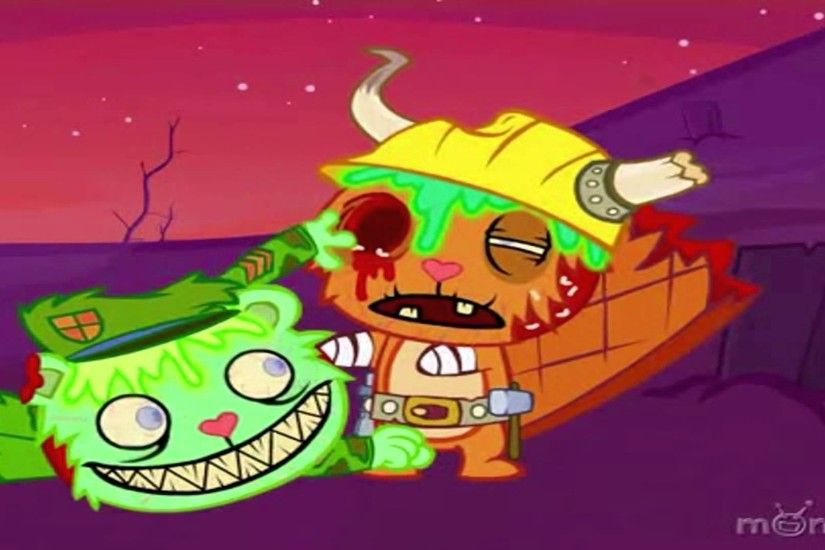 Happy Tree Friends-Apocalipsis Zombie! (ESPECIAL HALLOWEEN 2015) - YouTube