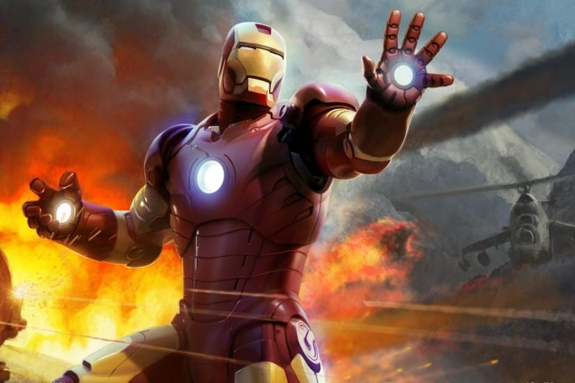 ironman wallpaper 1920x1080 windows 10