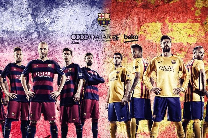 WallpapersWidecom Sports HD Desktop Wallpapers for · 2016 fc barcelona ...