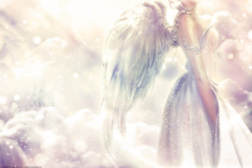 angel background wallpaper for computer free