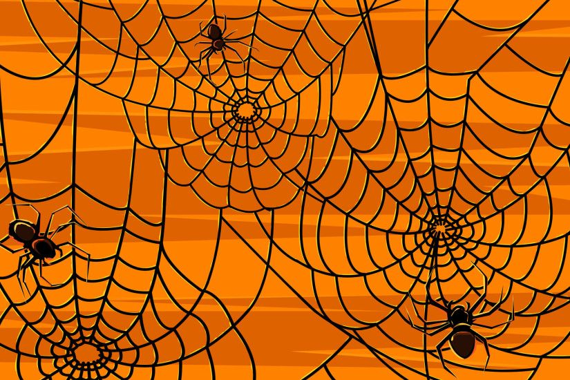 Scary-Halloween-2012-Spiders-HD-Wallpaper