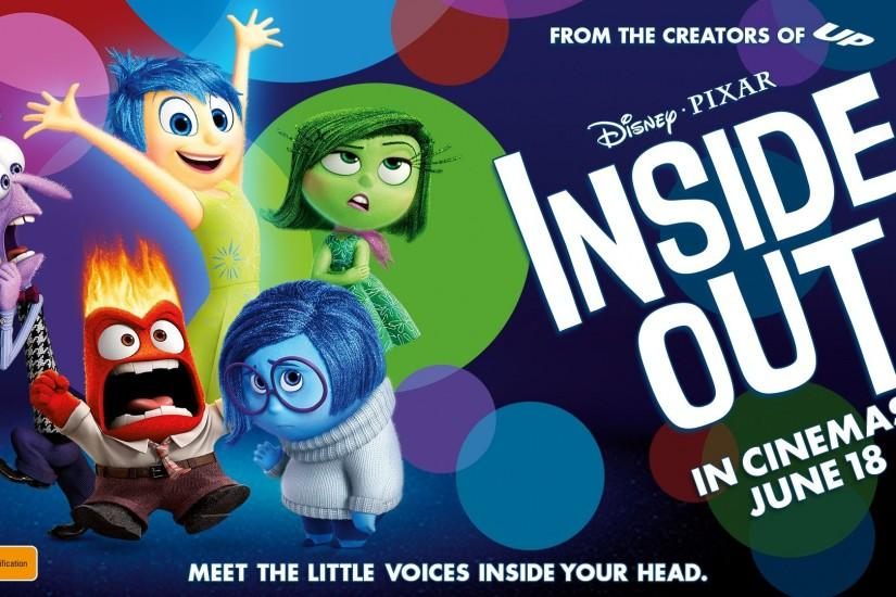 INSIDE OUT disney animation humor funny comedy family 1inside movie poster  #1