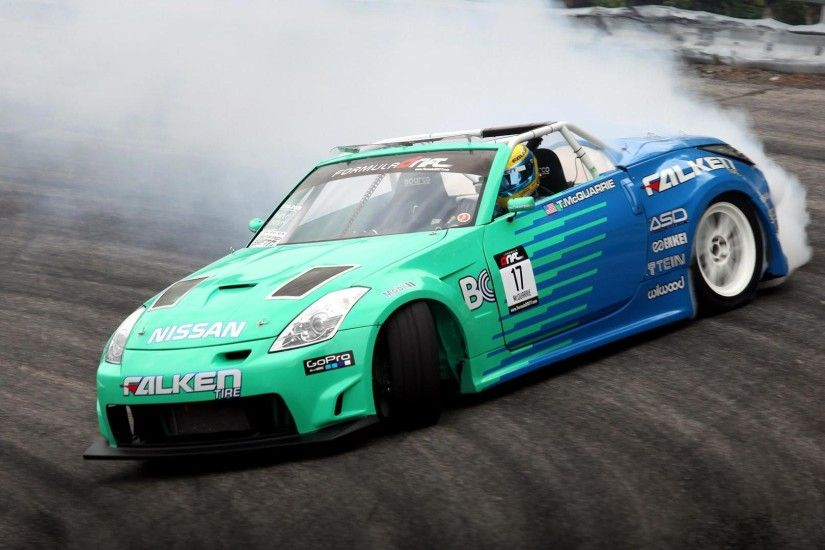 HD Falcon Nissan 350z Drift Car Wallpaper