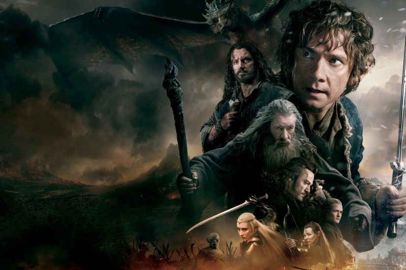 General 2560x1440 movies The Hobbit The Hobbit: The Battle of the Five  Armies Gandalf Bilbo