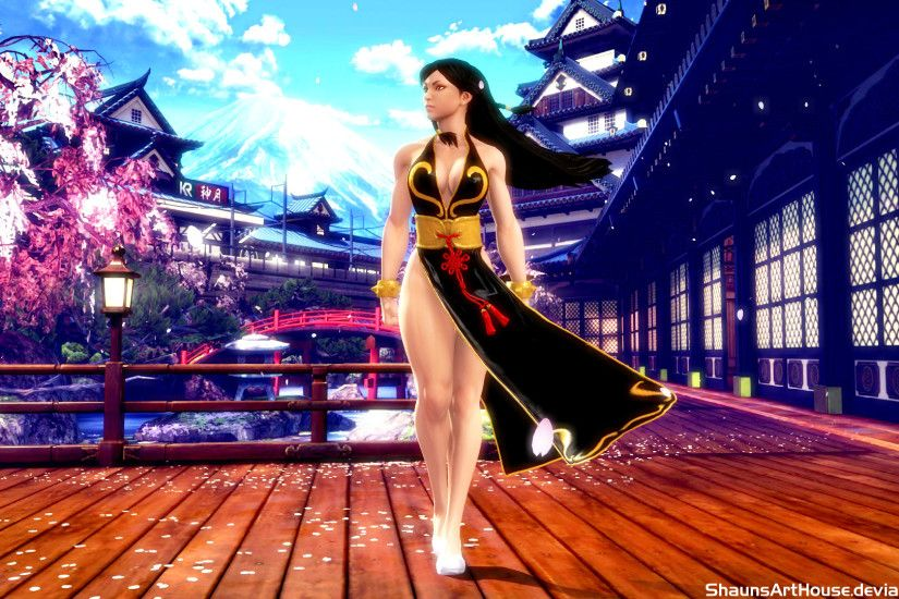 ... Street Fighter Chun Li wallpaper by ShaunsArtHouse