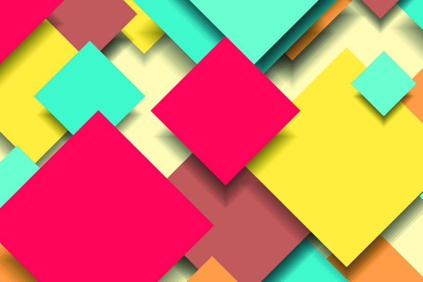Abstract wide colorful digital design wallpaper