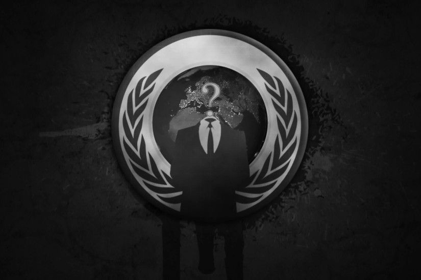 Anonymous Logo - wallpaper.