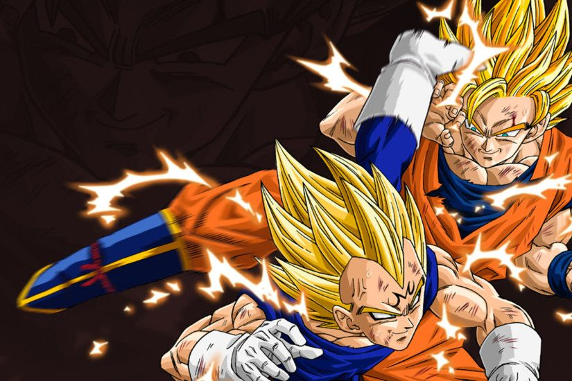 Anime - Dragon Ball Z Dragon Ball Dragon Ball Goku Vegeta (Dragon Ball)  Wallpaper
