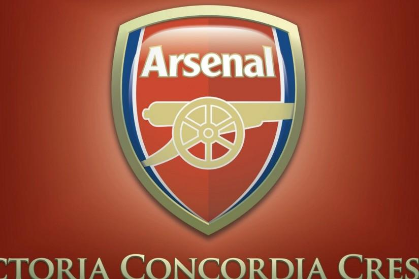 Preview wallpaper logo, arsenal, football club, england, sport 2048x2048