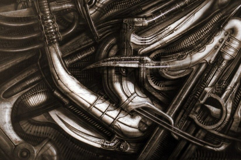 giger6 hr giger dump 1680x1050 wallpaper Art HD Wallpaper