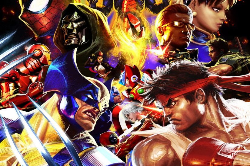 Game HD Wallpapers, Playstation 3 Wallpapers, Video Games, marvel vs .