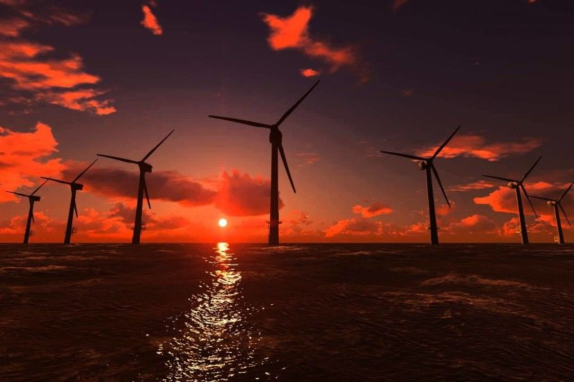 Sunset Offshore Wind Farm - YouTube