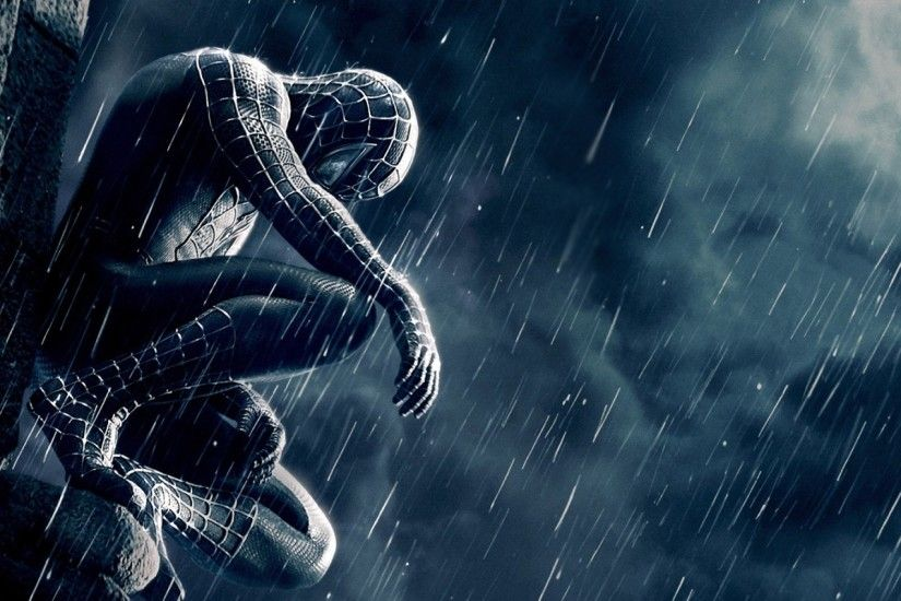 Movie - Spider-Man 3 Rain Spider-Man Movie Wallpaper