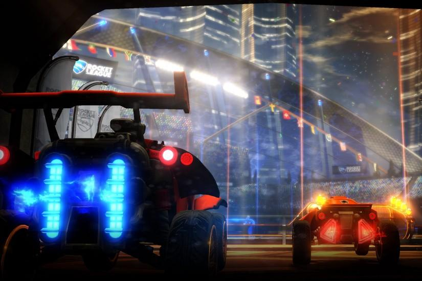 Image - Rocket League Background The Entrance.jpg | Steam Trading Cards  Wiki | Fandom powered by Wikia