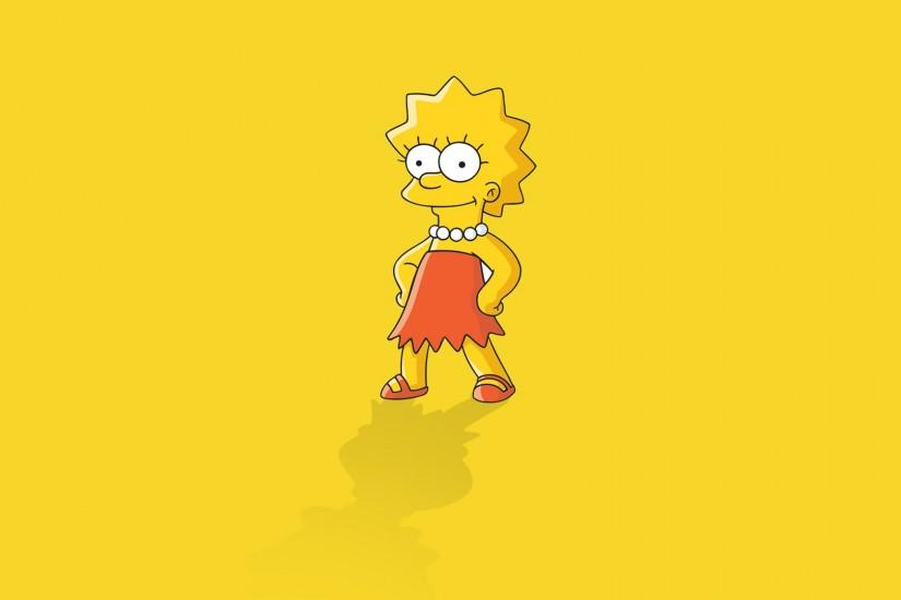 TV Show - The Simpsons Lisa Simpson Wallpaper