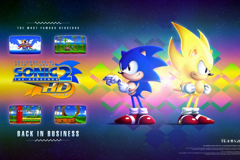1920x1200 sonic 2 hd wallpaper 3 by sonicx2011 fan art wallpaper games 2012  2015 .