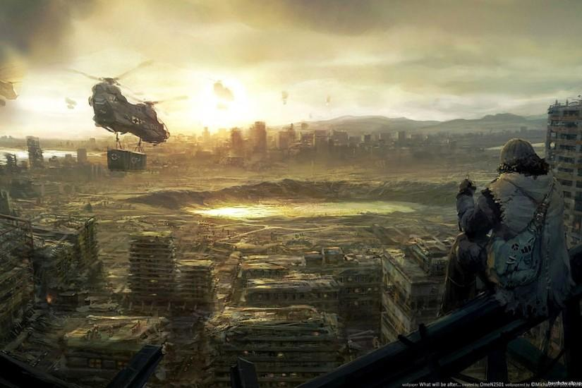 Post Apocalyptic Wallpaper 227968