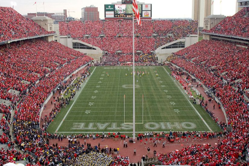 ... stadium scarlet ohio state football hd wallpapers 75 images  ohiostatebuckeyes ...