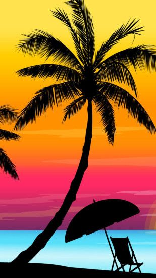 Обои iPhone wallpaper summer