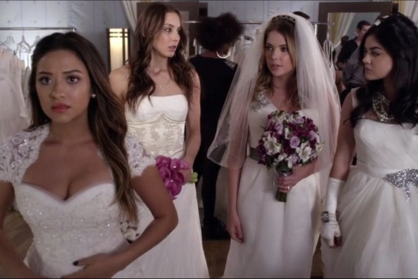 "Pretty Little Liars ""Unbridled"" Review: Always a Bridesmaid, Never a Bully  - TV.com"