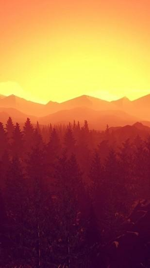 download firewatch wallpaper 1080x1920 for desktop