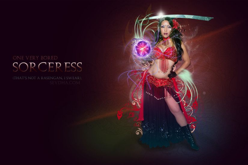 Belly Dancer Sorceress Entertainment Sevdha