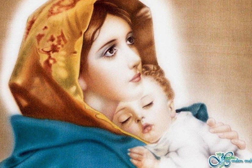 1920x1200 OUR SWEET MOTHER MARY TO ALL MOTHERS IN THE MOTHER S DAY WALLPAPER  .