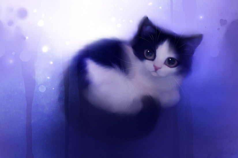 The cat itself is adorable-I'm really liking the blue light running along