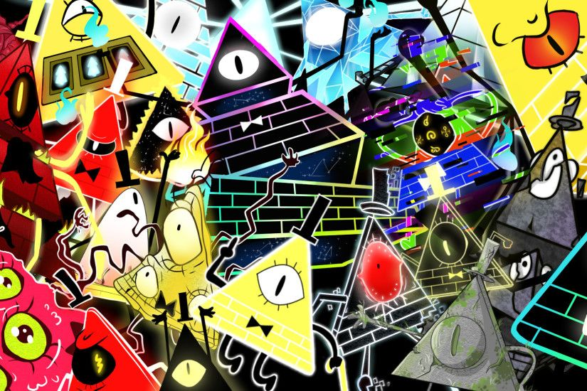 ... Bill Cipher all forms Wallpaper by z3llychan