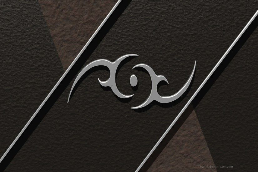 Artistic - Other Brown Metal Tribal Wallpaper