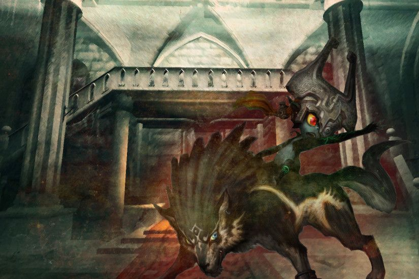 Wolf Link and Midna by Boulinosaure Wolf Link and Midna by Boulinosaure