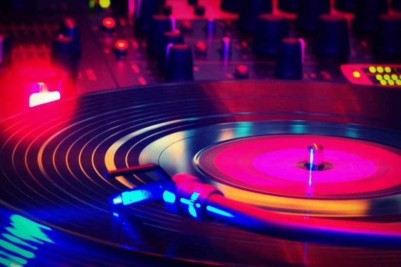 Turntable color HD wallpaper