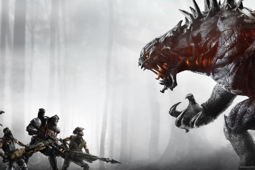 Evolve Video Game Wallpaper picture