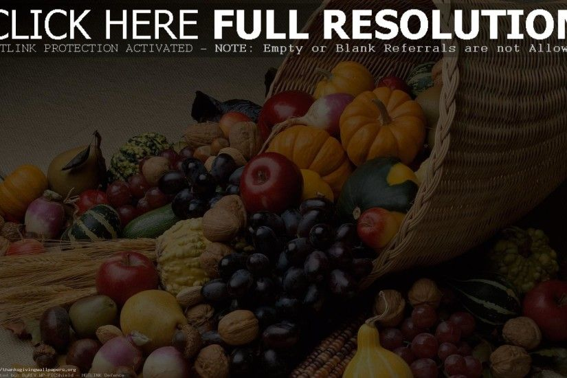 Cornucopia Thanksgiving Wallpaper