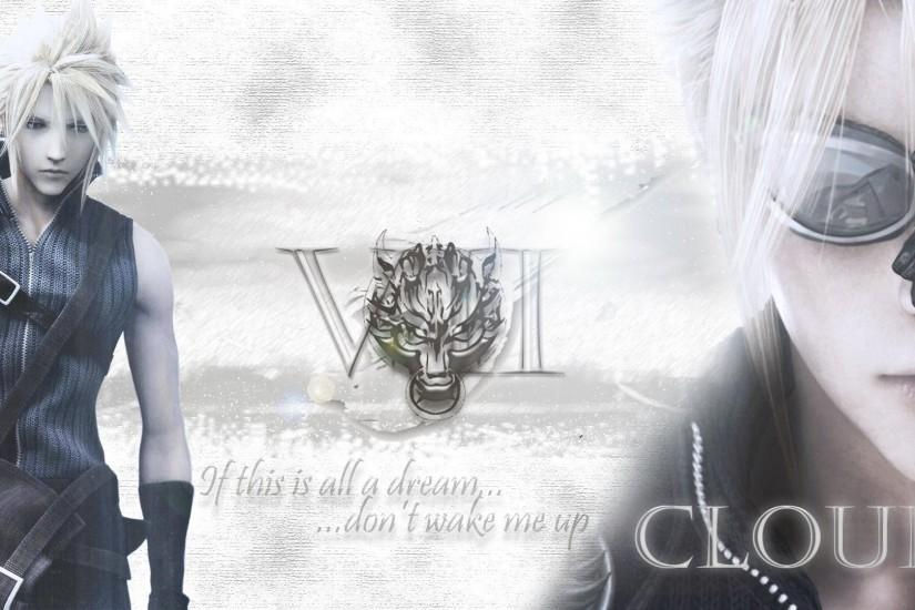 Final Fantasy Cloud Strife VII Video Games Square Enix Wallpaper ...