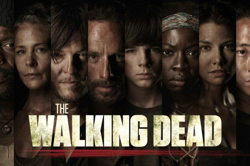 1920x1080 Preview wallpaper the walking dead, rick grimes, carl grimes  1920x1080