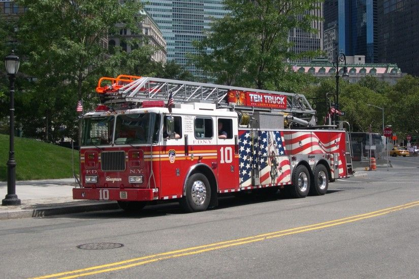 Picture for Desktop: fire truck