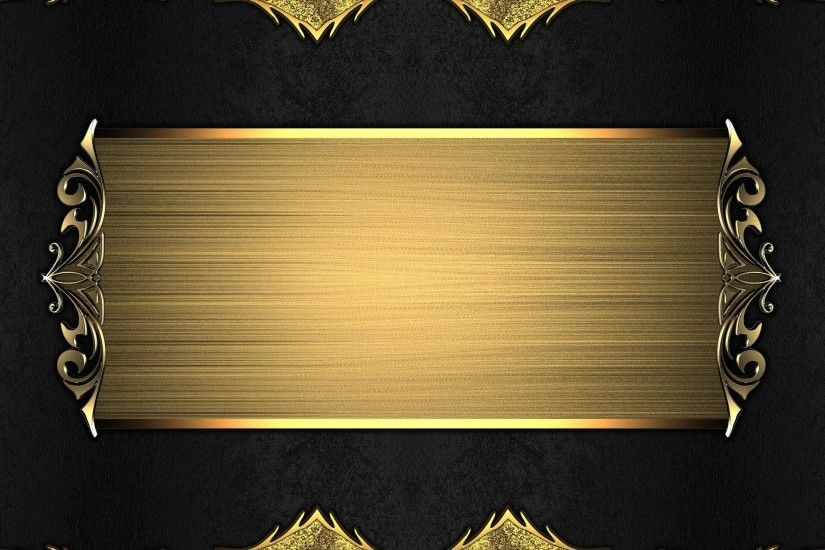 And Gold Backgrounds Wallpaper Cave #5844 Gold and Black ...