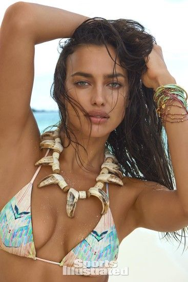 Irina Shayk was photographed by Yu Tsai in The Islands Of Tahiti. Swimsuit  by TAVIK